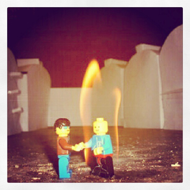 Wish you were here #lego #fun #instafun #album #cover #awe… | Flickr