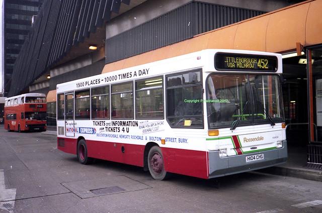 Rossendale 104 (H104CHG)