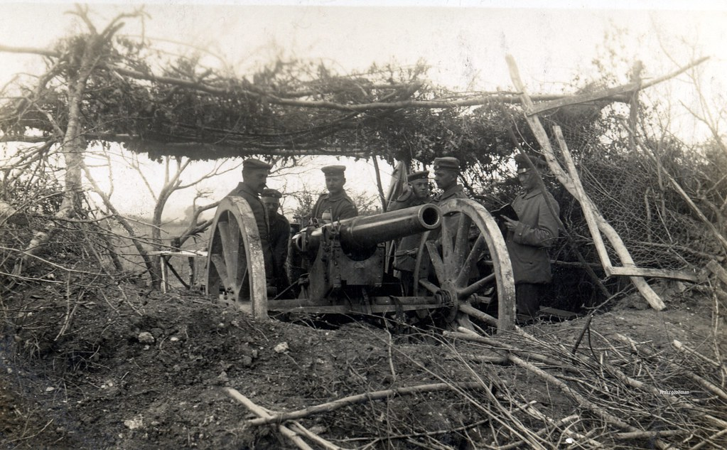 Image result for ww1 9 cm Kanone 1873 field gun
