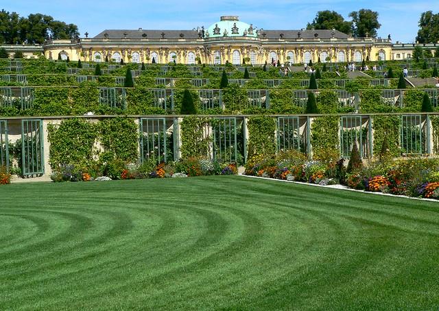 Potsdam - Park Sans Souci - Schloss Sans Souci
