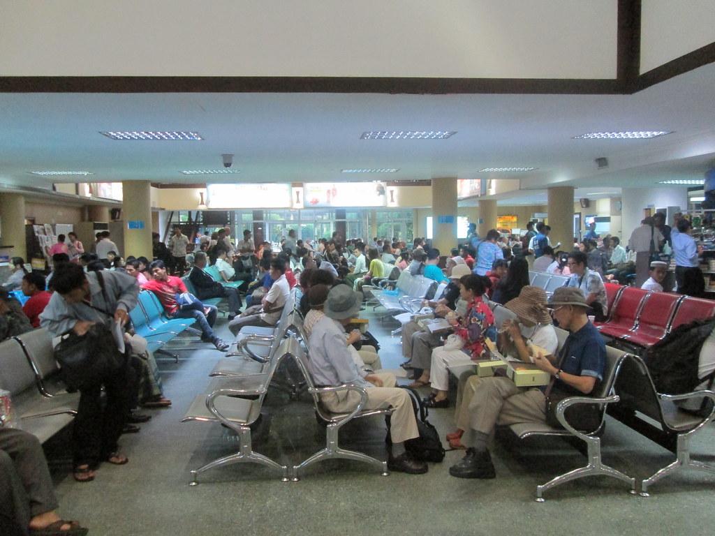 Domestic Terminal Yangon Airport Departing For Mandalay Flickr