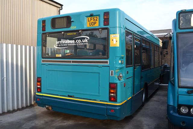 Arriva Shires & Essex 3504 LF52UOP