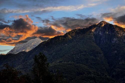 sunset mountains montagne switzerland ticino nikon tramonto dream svizzera sogno d90