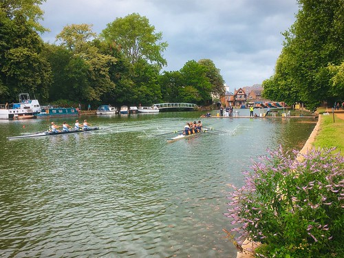 oxford landscape river thames water