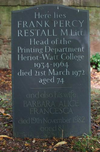 Frank Percy Restall