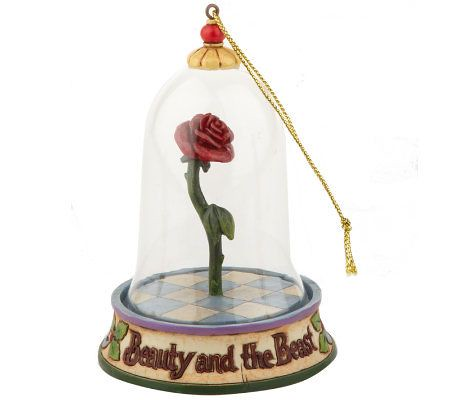 Rose Ornaments Beauty The Beast Jim Shore Disney Tradi Flickr