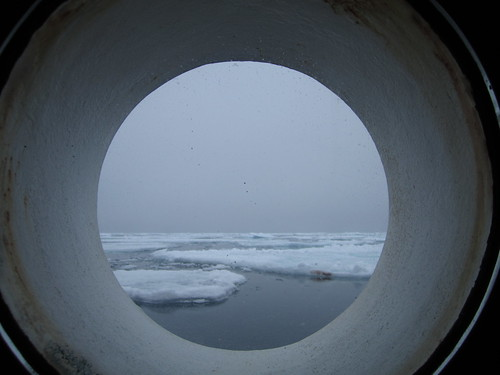 View from the porthole