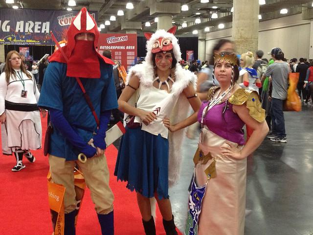 Ashitaka, Mononoke, Zelda