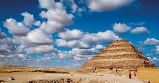 Egypt Sakkara Step Pyramid