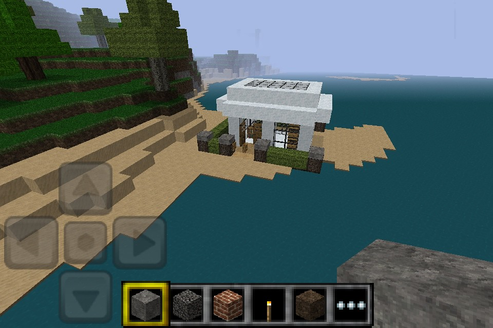 . Minecraft PE modern house    Ok so these where made on pe in    Flickr