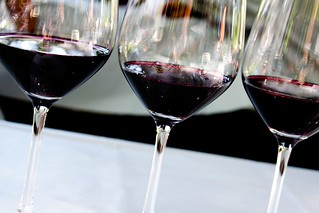 Red Wine in Glasses | by Alleigh
