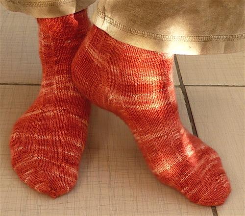 Flammegarn socks | by AnnaKika