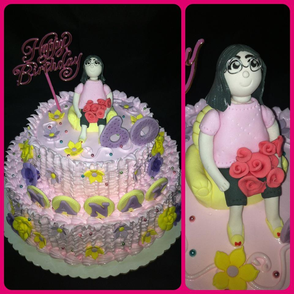 60th Birthday Cake For Their Nanay Or Mom