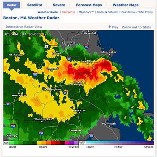 Boston, MA Doppler Weather Radar Map - AccuWeather com | Flickr