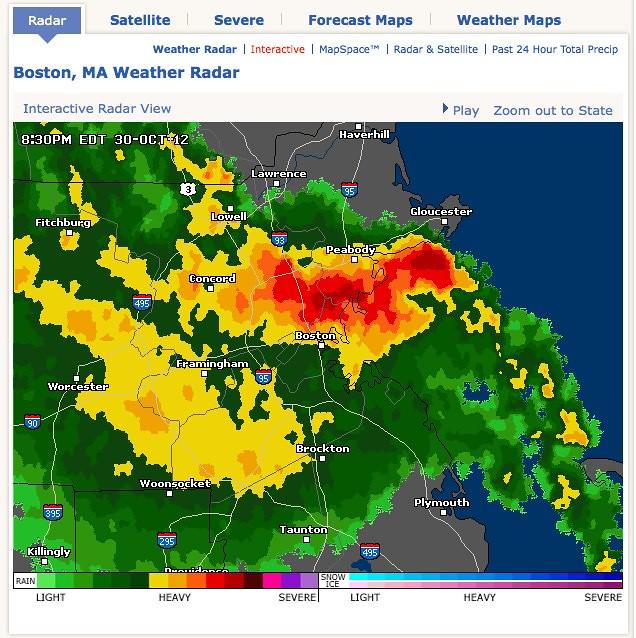Boston, MA Doppler Weather Radar Map - AccuWeather com   Flickr