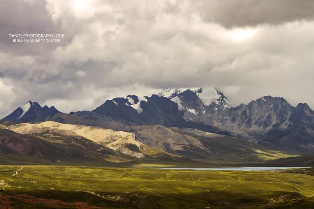 Huayna Potosí massif