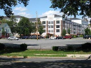 View of Wyomissing Square Mixed-Use Center from SW Corner of Penn Ave & Park Rd | by The Promenade at Wyomissing Square