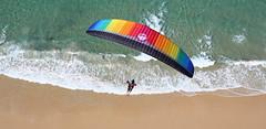 Rainbow Beach - Carlo Sand Blow Paragliding