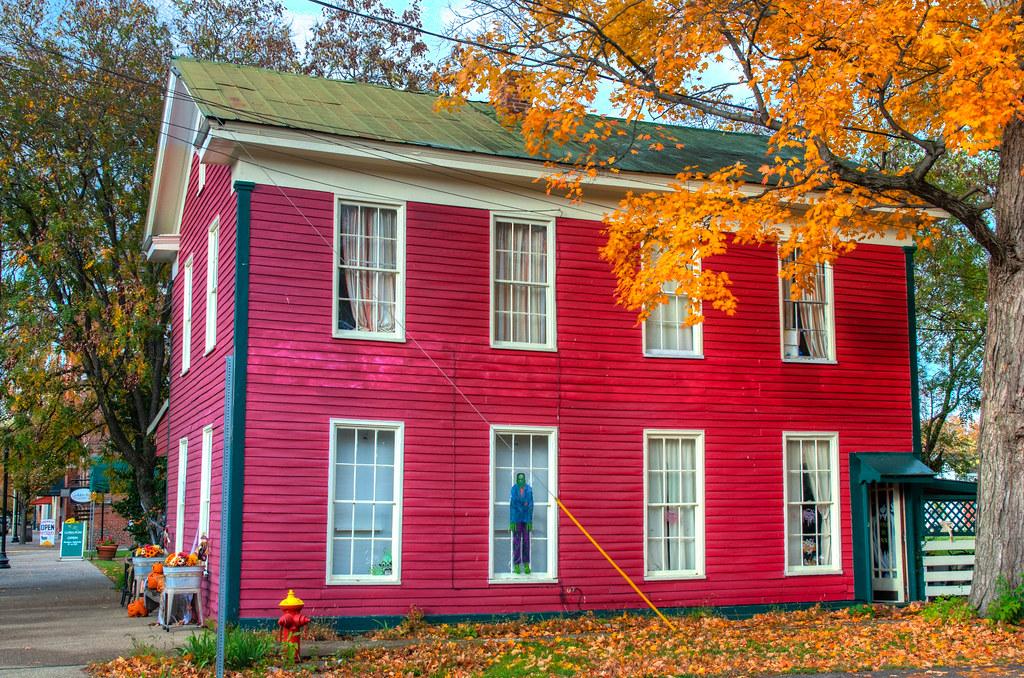 Red House, New Harmony, Indiana