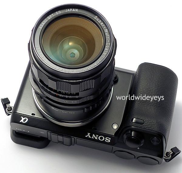 ソニーNEX-7, ペンタックス SMCタクマー 28mm F3.5