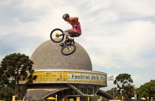 Mauricio Macri participó del primer Festival de la Bici en la Ciudad. (5 de 9)