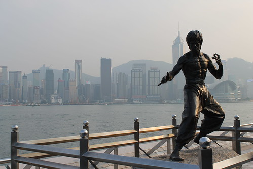 Bruce Lee statue. | by ironypoisoning
