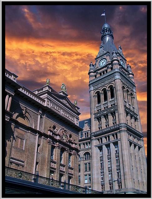 Milwaukee WI  ~ City Hall & Pabst Theatre