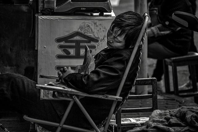 Sleeping China