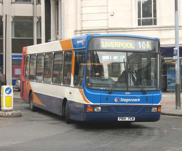 Stagecoach Merseyside 33140 (P814YCW)