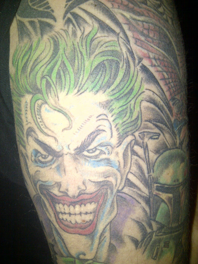 ce6a2097d Joker tattoo | comic book tattoo. joker tattoo | dloomis1205 | Flickr
