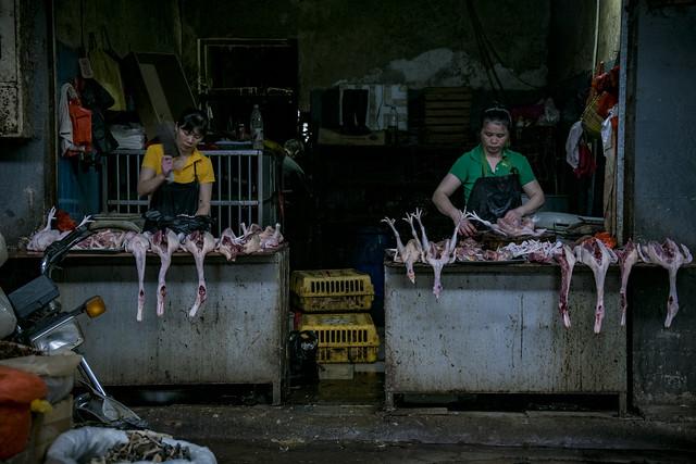 Yangshuo food market
