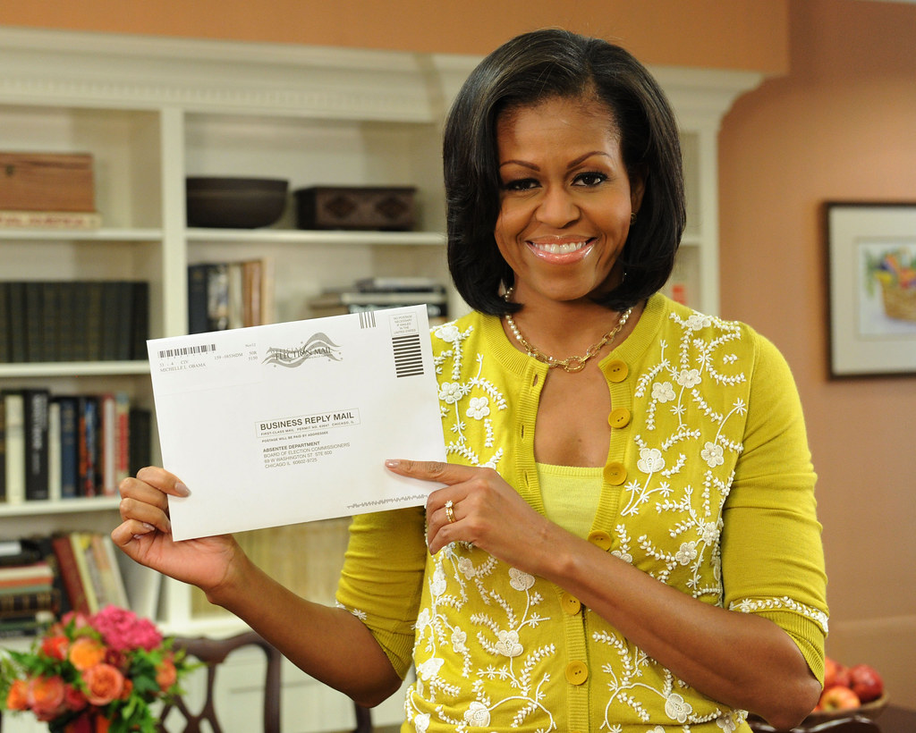 Michelle Obama votes by mail—October 15th | First Lady Miche… | Flickr