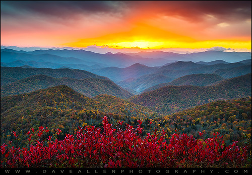 blue autumn sunset red orange mountains color fall nature yellow sunrise landscape outdoors nationalpark nc nikon colorful vibrant north dramatic northcarolina foliage ridge valley parkway western carolina layers wilderness epic smokies appalachia blueridgeparkway ridges daveallen greatsmokymountains d800 appalachians wnc carolinas gsmnp brp westernnc southernappalachians platinumheartaward mygearandmeplatinum mygearandmediamond dblringexcellence
