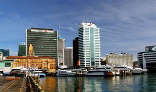 Ferry Terminl Auckland. | by Bernard Spragg