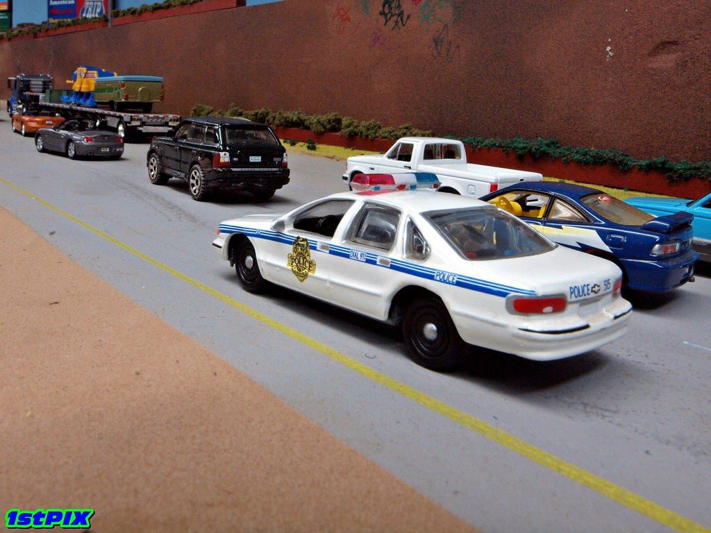 Key West Florida Police Chevy Caprice Diecast | 1/64 Johnny