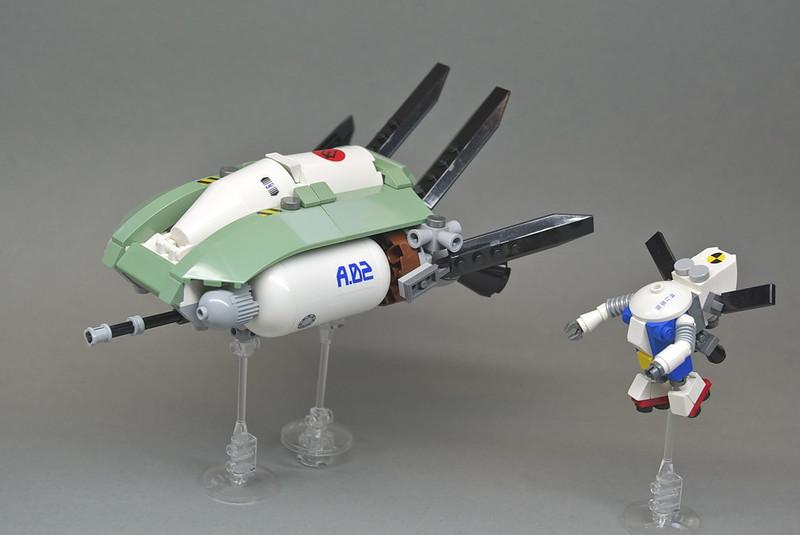 Kookaburra & Growler on patrol