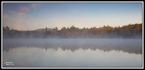 vacation mist nature water fog sunrise outdoors pond maine ripples 2012 sanford sandpond