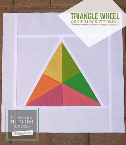 Triangle Wheel Block Tutorial