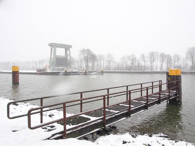 Schleuse Flaesheim Winter-7