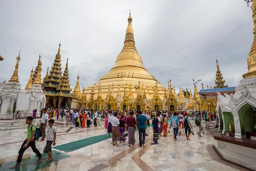 The Golden Domes of Yangon | by virtualwayfarer