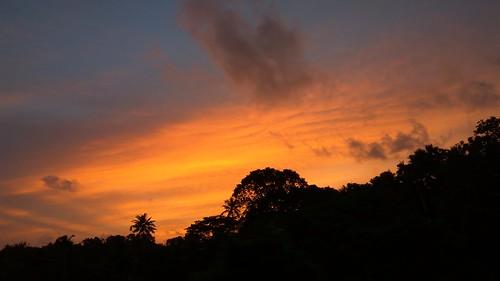 sun sunset jomy jomyag jag mulanthuruthy mulanthuruthyrailwaystation ernakulam chilavannur indianrailway railway southernrailway india indian kadavanthara cochin