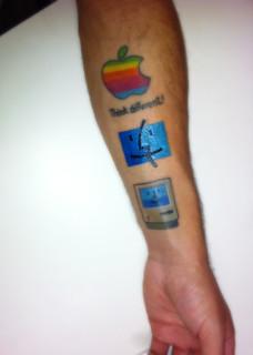 My Apple tattoo