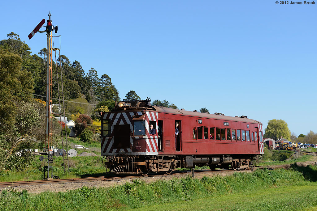 63RM departs Daylesford by James Brook