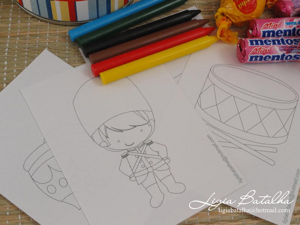 Desenhos Colorir Soldadinho De Chumbo Ligia Batalha Flickr
