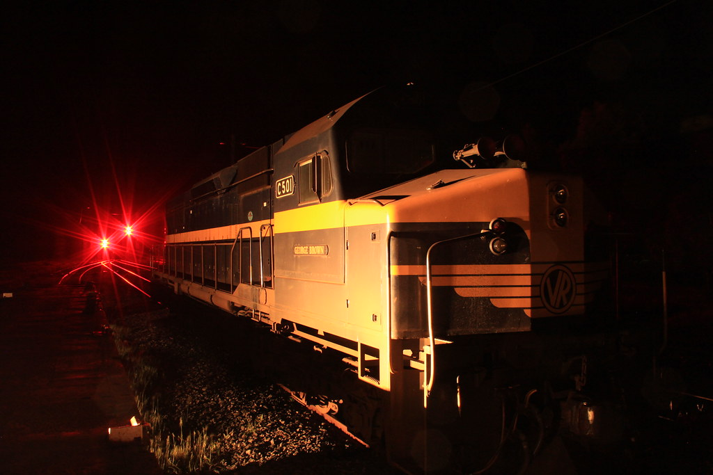 C501 shut down at Maroona at Midnight awaiting its next duty by bukk05