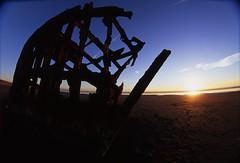 Fisheye Shipwreck