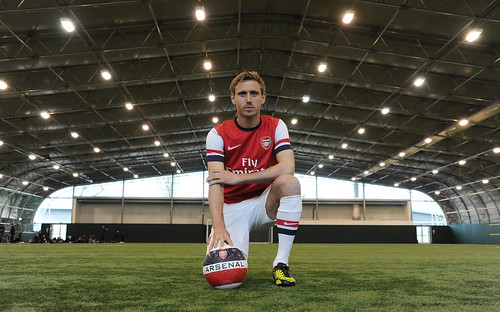 Nacho Monreal of Arsenal