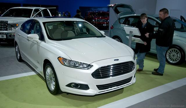 2013 Washington Auto Show - Upper Concourse - Ford 12