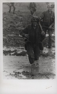 Orville Ford Wades Through a Rice Paddy, 10 February 1968