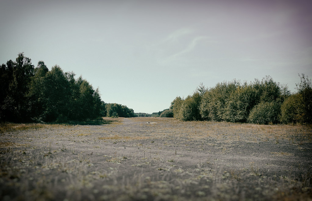 German Ww2 Airfield Abandoned Runway Abandoned Since